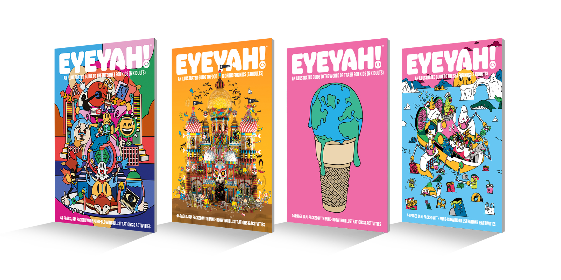 Eyeyah Covers